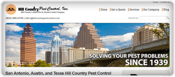 Hill Country Pest Control